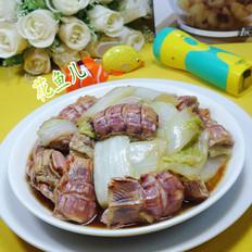 虾蛄炒大白菜