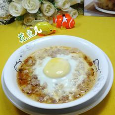 鸡蛋蒸肉末