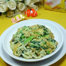 虾皮青菜炒鸭蛋