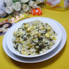 雪菜鸡蛋炒饭