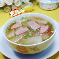 火腿片冬瓜汤