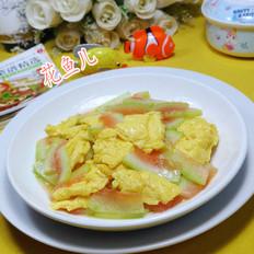 西瓜皮炒鸡蛋