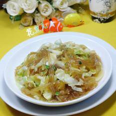 香葱圆白菜炒粉条