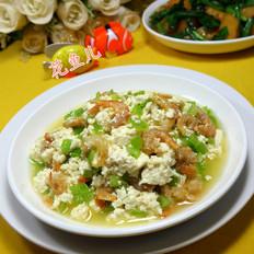 开洋尖椒炒老豆腐