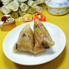 花生米酱肉糯米粽