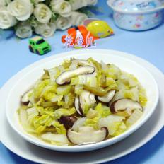 榨菜丝香菇炒娃娃菜