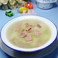 瘦咸肉冬瓜汤