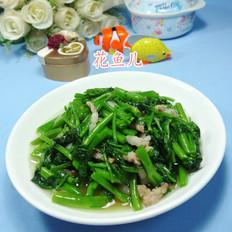 猪肉炒空心菜