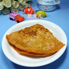 辣味圆白菜鸡蛋饼