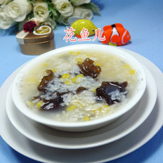 双耳玉米片大米粥