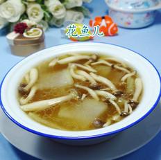 蟹味菇冬瓜汤
