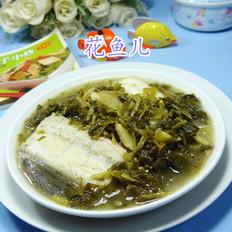 咸菜烧鳗鱼