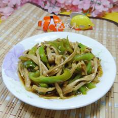 尖椒炒黄花菜
