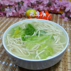 浓汤宝圆白菜荞麦面