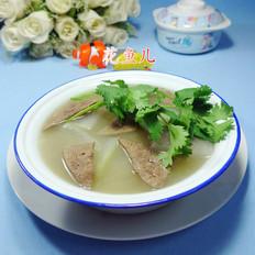 浓汤宝猪肝冬瓜汤