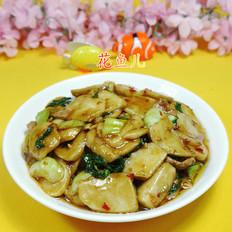 里脊肉青菜炒年糕