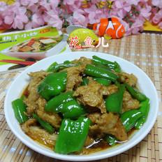 尖椒炒烤麸