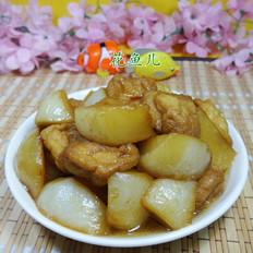 油豆腐烧萝卜