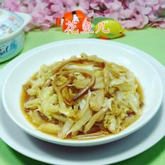 黄花菜炒白菜