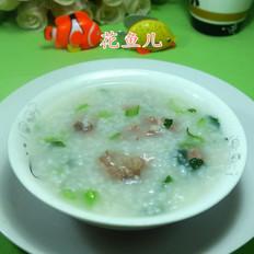 菜芯排骨大米粥