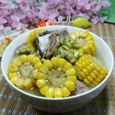 青黄豆玉米肉骨汤
