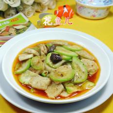 牛肉酱墨鱼丸炒西葫芦
