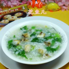 油菜蕻鲍鱼大米粥