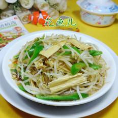 小炒绿豆芽