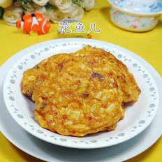 鸡蛋泡菜山药饼