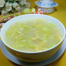 虾皮圆白菜玉米面疙瘩