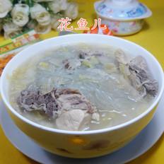 酸菜粉条煮龙骨