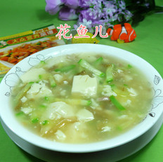 三丝豆腐羹