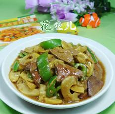 尖椒雷笋炒猪肝