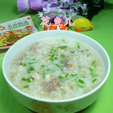 排骨薏米仁大米粥