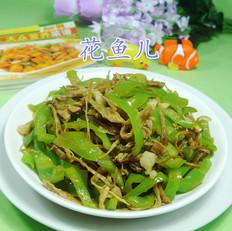 笋干菜五花肉炒尖椒