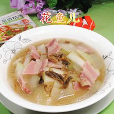 笋干菜咸肉煮冬瓜
