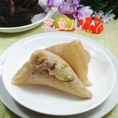 咸肉青黄豆糯米粽