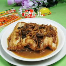 笋干菜烧鳗鱼