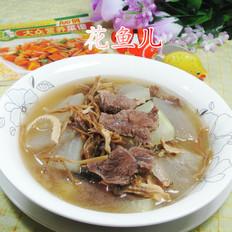笋干菜牛肉冬瓜汤