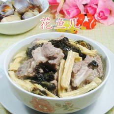 酸菜腐竹煮排骨