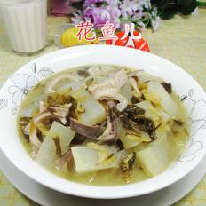 雪菜猪肚煮冬瓜