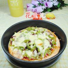 尖椒牛肉丝披萨