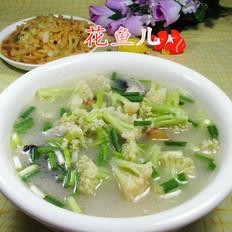 花菜鱼头汤