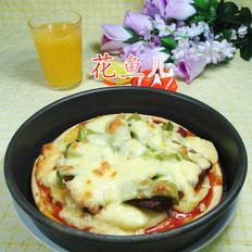 尖椒土豆牛排披萨