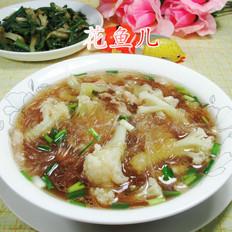 猪肉花菜煮粉丝