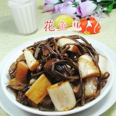 茶树菇茭白烧五花肉