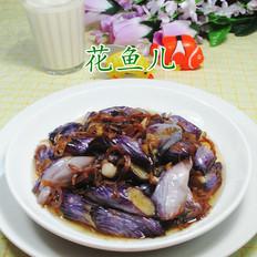 丁香鱼炒茄子