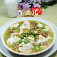 榨菜丝毛豆豆腐