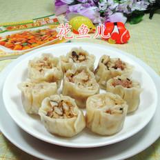 香菇肉末糯米烧卖