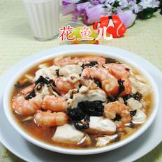 紫菜虾仁豆腐